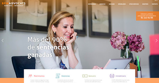 Estrategia de marketing online y página web para BPM Abogados