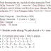 Soal Ulangan Ujian UAS Seni Budaya SBK kelas 5 V SD Semester 1