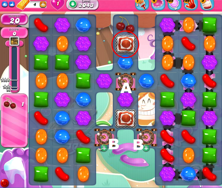 Candy Crush Saga 2043