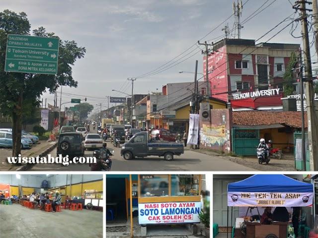 Potensi Wisata Kuliner Jalan Bojongsoang di Bandung Selatan