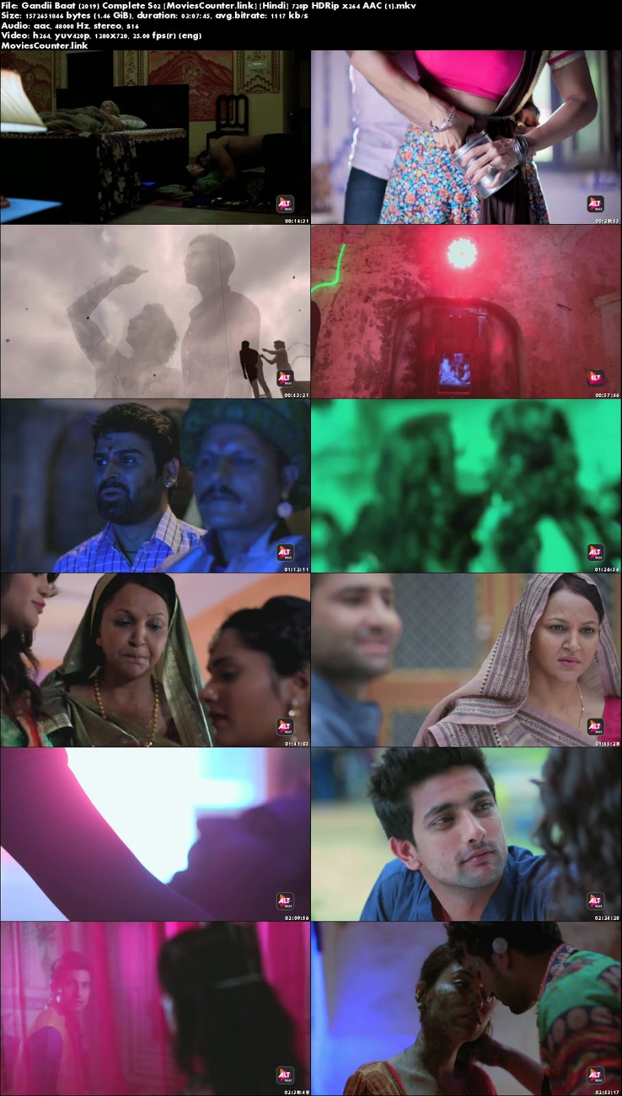 Screen Shots Gandii Baat 2019 Season 2 Episode Hindi Hd 720p