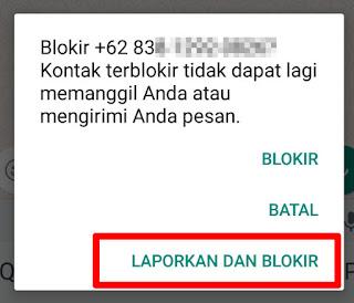 Cara memblokir & melaporkan Spammer WhatsApp Group yang Rese