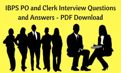 ibps po and clerk interview questions and answers pdf download