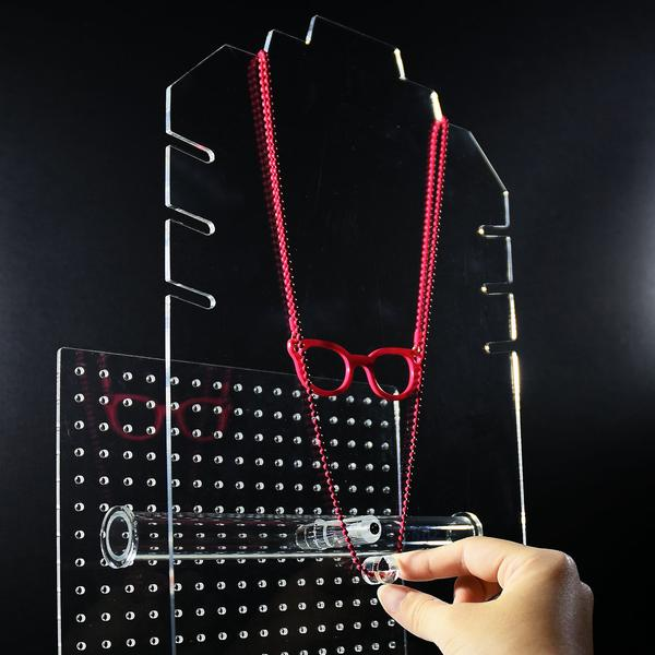 Shop Wholesale Acrylic Hanging Jewelry Storage Organizer at Nile Corp