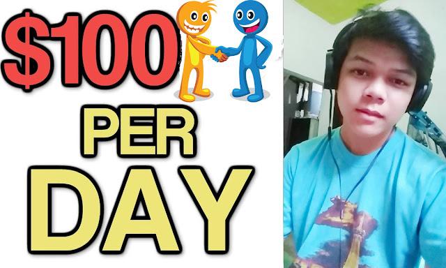 cara mendapatkan $100 setiap hari
