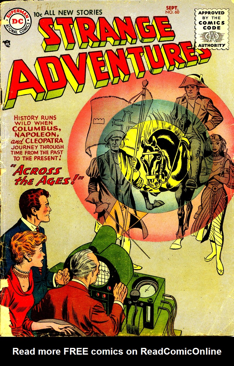 Strange Adventures (1950) 60 Page 1