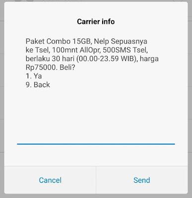 daftar harga paket internet telkomsel terbaru Juli 2018