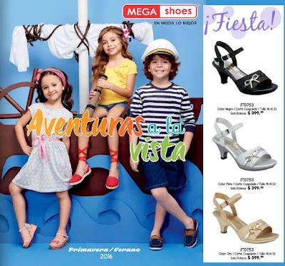 megashoes 2016 zapato infantil pv