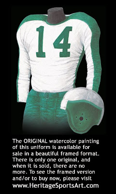 Philadelphia Eagles 1945 uniform