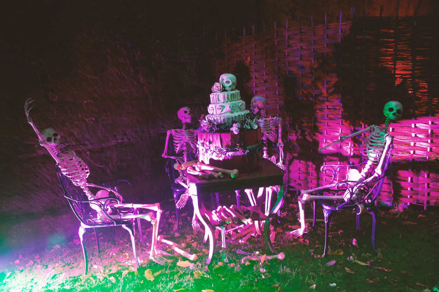 skeleton crew, halloween, warwick castle