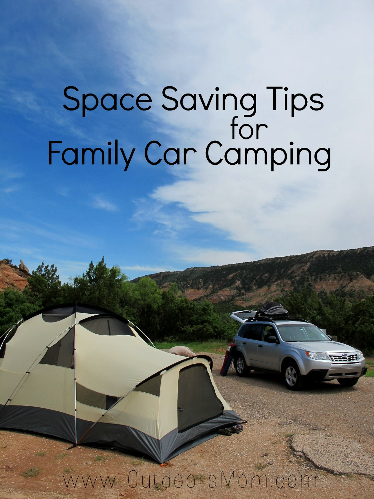 8 Space Saving Tips For Family Car Camping
