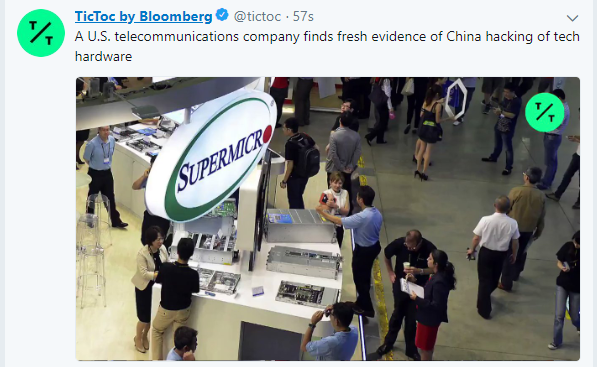 Converge! Network Digest: Bloomberg: Hacked Supermicro