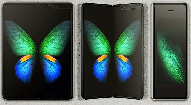 Galaxy Fold | سعر هاتف سامسونج جالكسي القابل للطي فى مصر - هاتف جالكسي الجديد بسعر 39 ألف جنيه وبشاشة قابلة للطى