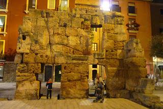 Restos romanos de Tarragona.