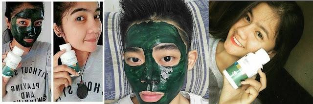 Masker Spirulina adalah Masker Wajah Alami