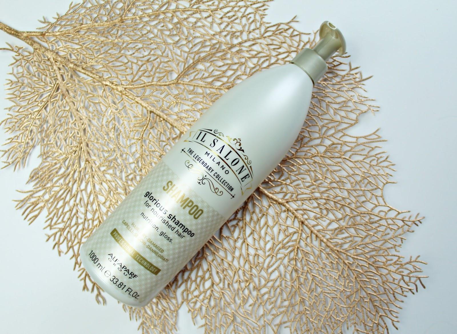 szampon do włosów suchych i zniszczonych Il Salone Milano Glorious