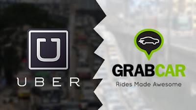 uber grab taxi