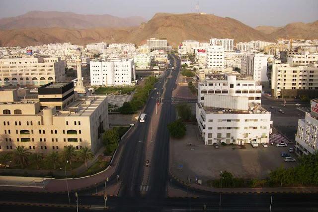 Cidade de  Mascate - Omã