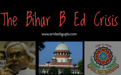 bihar bed admission crisis minority college nou sc nitish