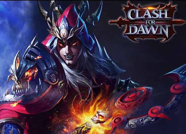 Clash for Dawn Demon Raid of Death Desert with Bluestacks