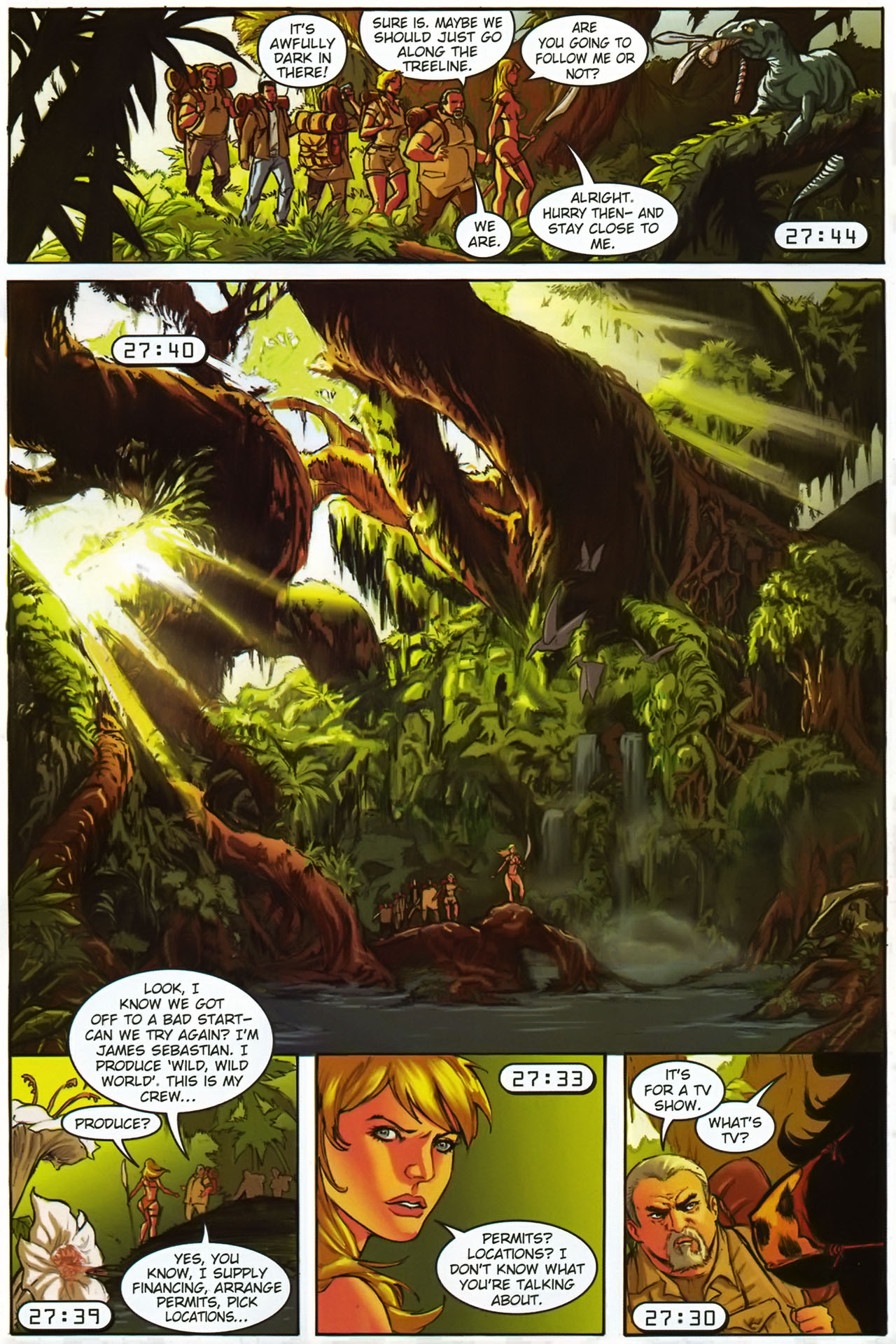 Read online Jungle Girl comic -  Issue #1 - 16