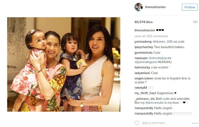 CUTENESS OVERLOAD! Look at Vicki Belo's Scarlet and Marian Rivera's Baby Zia Bonding Together!