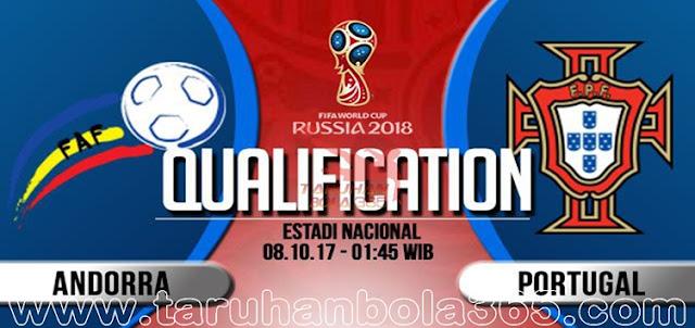 Prediksi Taruhan Bola 365 - Andorra vs Portugal 8 Oktober 2017