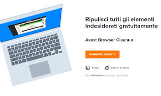 programma Avast Browser Cleanup