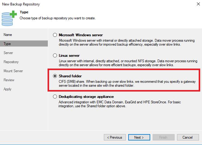 HYPER-V,SYSTEM CENTER AND AZURE: Use Azure Files as Veeam Backup