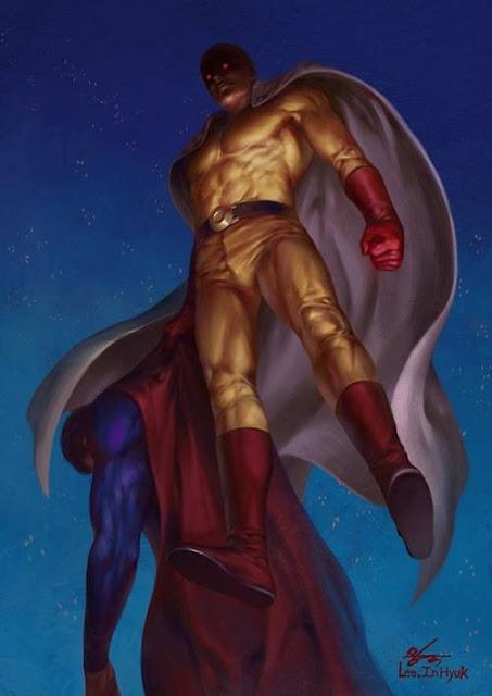 saitama vs dc mengalahkan superman