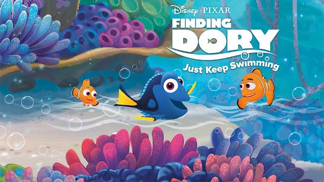 CINE ΣΕΡΡΕΣ, Finding Dory (2016), Ellen DeGeneres, Albert Brooks, Ed O'Neill, Andrew Stanton, Angus MacLane,