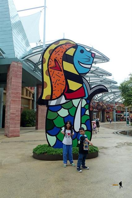Universal Studio Singapore vs Imbiah Lookout