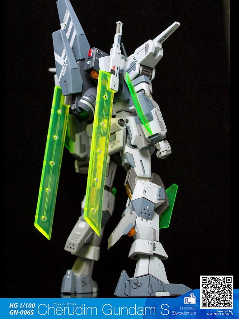 1100 cherudim gundam s custom build gundam kits