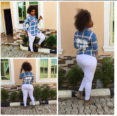 Actress Crystal Okoye Is Damn Too Confident About Her Rich Butt