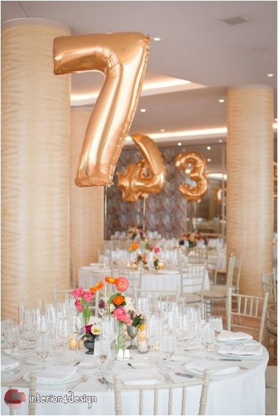 Wedding Decorations With Balloons And Flowers 17