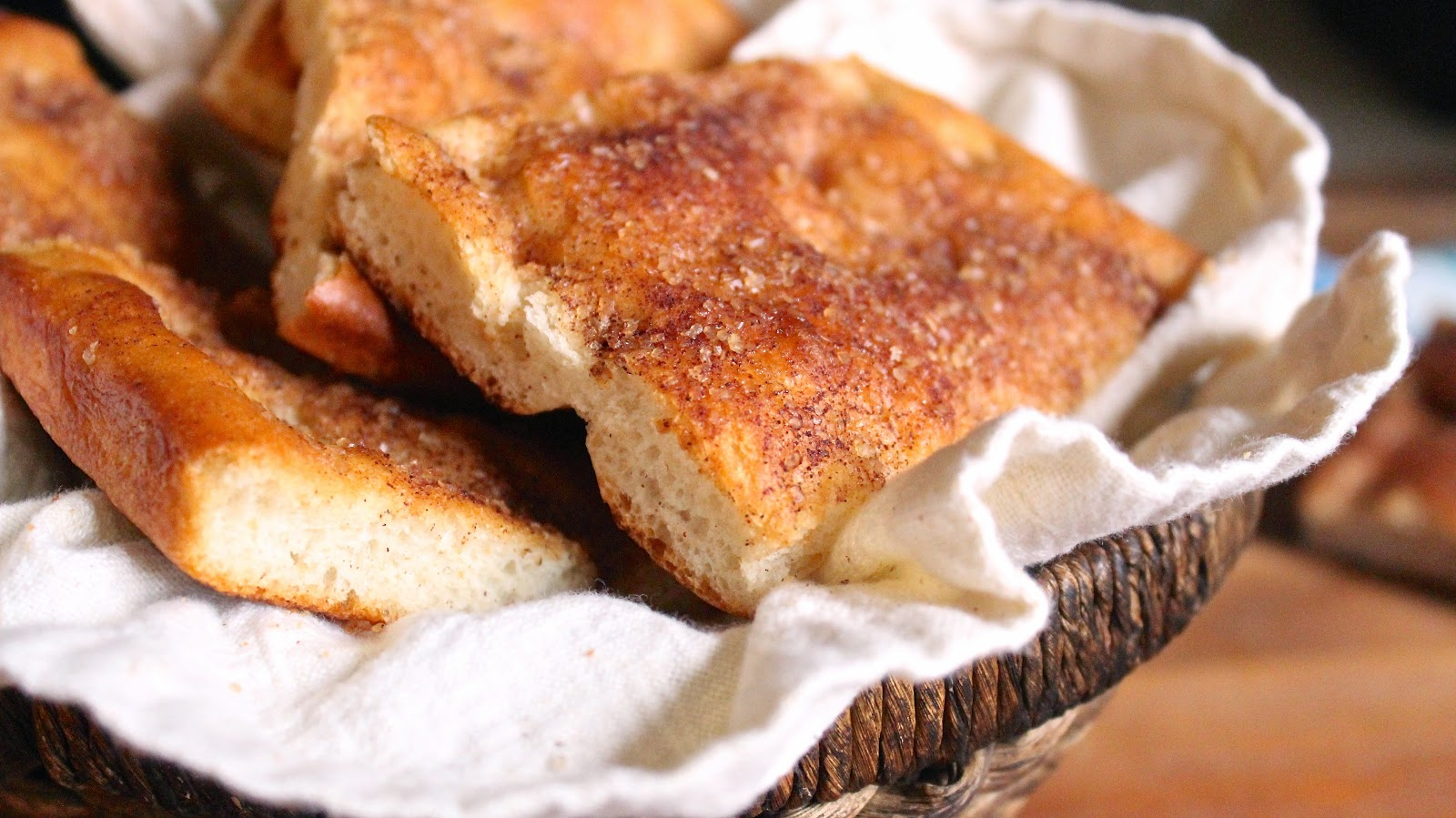 Quick Rise Cinnamon Sugar Focaccia
