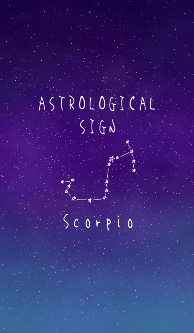 ASTROLOGICAL SIGN.(Scorpio)