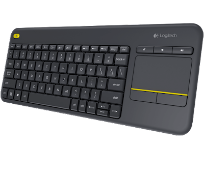 Logitech Wireless Touch Keyboard K400, Taking Care of Business Giveaway Holidays 2015 Ascending Butterfly Blog
