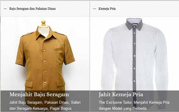 Tukang Jahit Jas Pria Jakarta