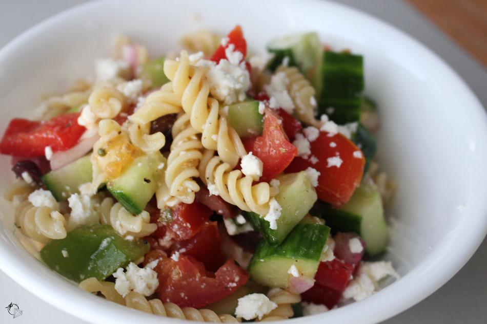 tomates cerises et diamants salade de p 226 tes 224 la grecque