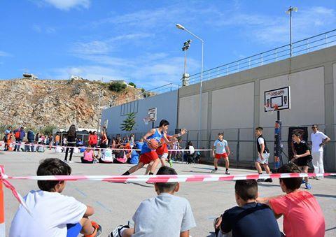 Μπάσκετ... παντός καιρού στο τουρνουά MILKO 3Χ3 της ΕΟΚ