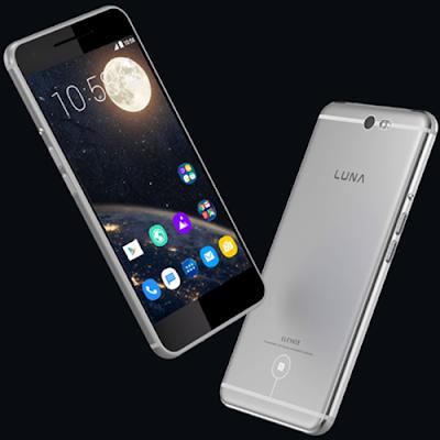 Smartphone Luna Body elegan dengan kamera yang menawan