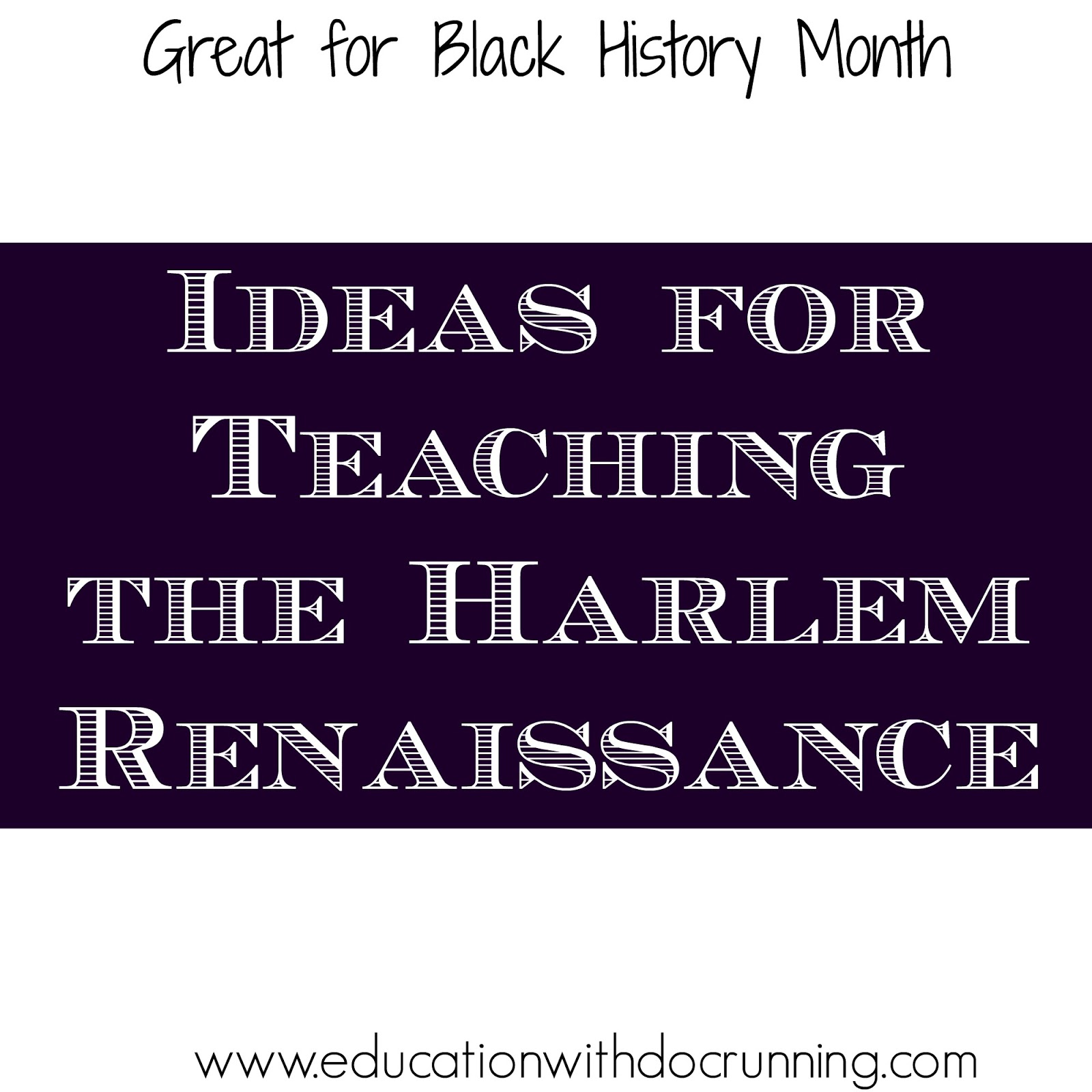 education during the harlem renaissance