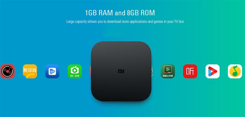Xiaomi Mi Box 4C (1GB+8GB/4K HDR/H 265/DTS-HD) - mysatbox tv
