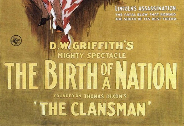 the tom gulley show birth of a nation dw griffith woodrow wilson the white house american cinema film history 1915 civil war wes gehring
