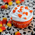 Halloween Party Treats: Candy Corn Dusted Cupcakes and Low-Calorie Witches Brew!