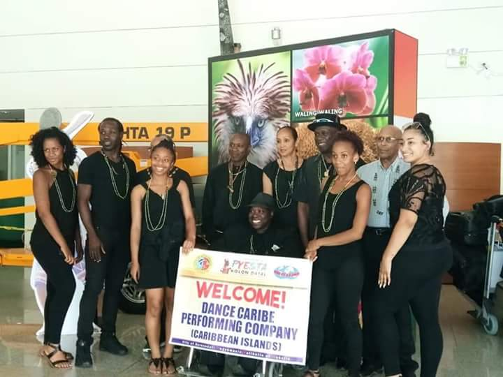 Welcome to Koronadal delegation from Caribbean Islands | Pyesta Kolon Datal 2018