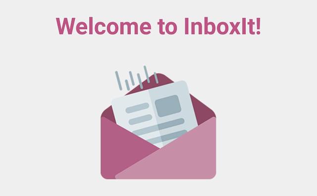 تطبيق InboxIt  لحفظ مقالاتك و فيديوهاتك و صورك المفضلة على بريدك الإلكتروني