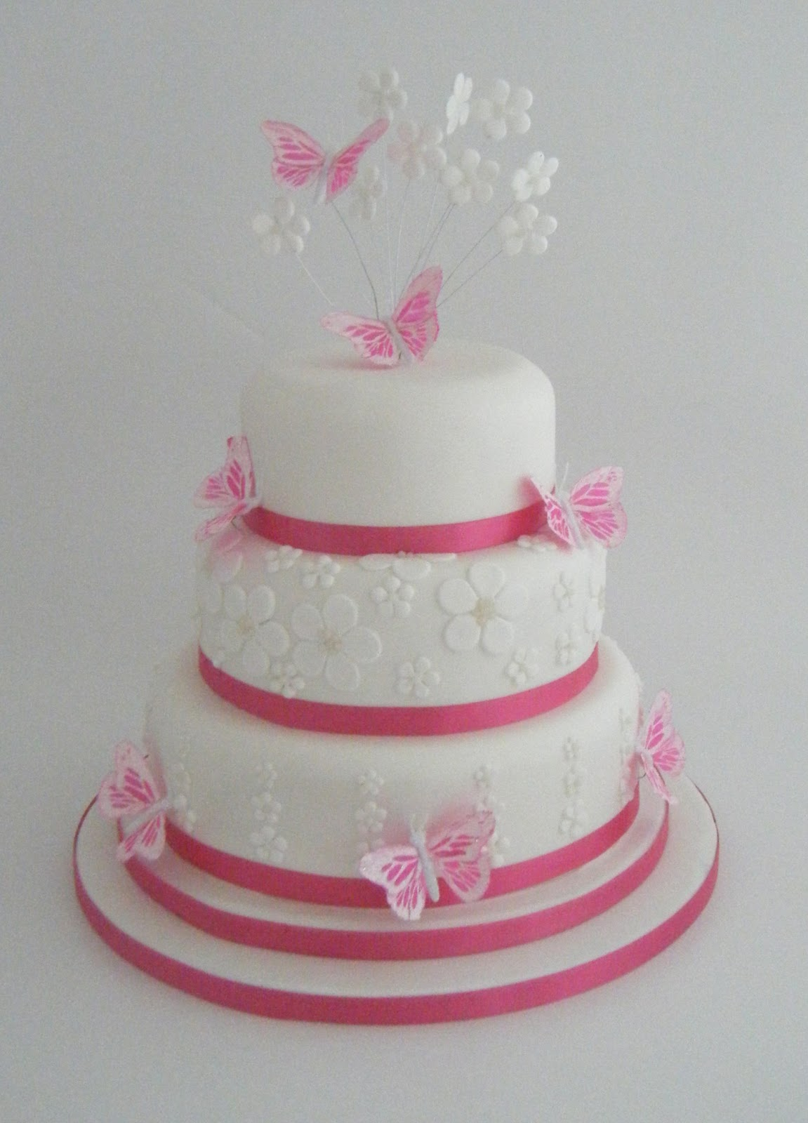Erfly Wedding Cake Decorations Pictures