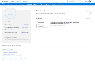 Pendaftaran Email Outlook Berhasil